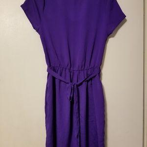 Forever 21 Dresses - Forever 21 cute purple bow dress